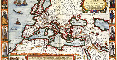 2268  Map Of The Roma Empire1610